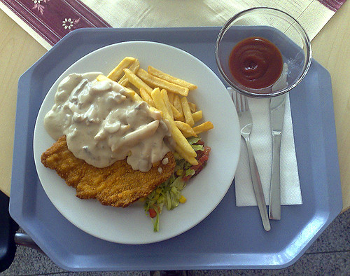 Champignon-Rahm-Schnitzel