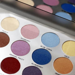 C O L O R S (Miss K.B.) Tags: blue light brown colors square gold mirror box details violet makeup round colourful nikkor eyeshadow colorpalette 50mmf14d 500x500 nikond80
