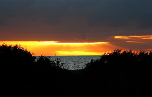 Sunset Across Gulf St Vincent