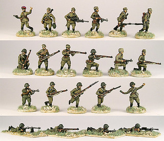 20mm Warmodelling Red Army Summer Infantry (KURSK)
