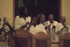Women's Day choir singing