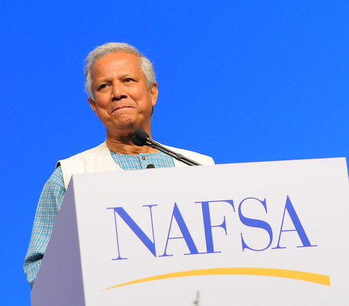 Muhammad Yunus at NAFSA 2009