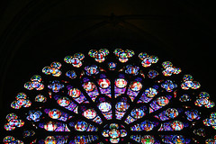 Kaleidoscope, Stained-Glass Rose Window, Paris