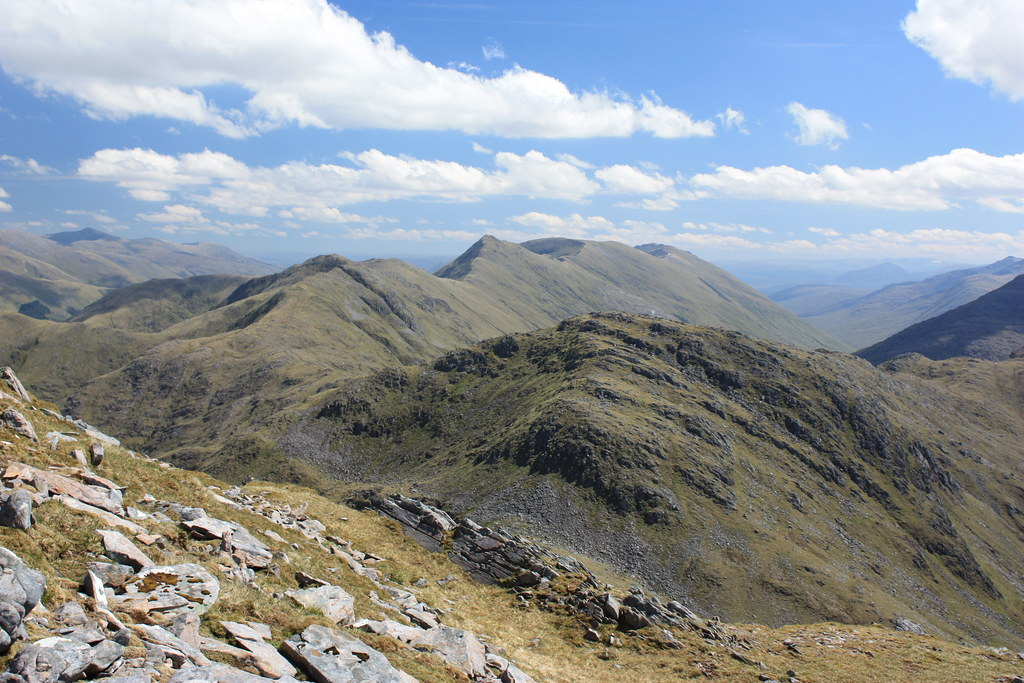 South Cluanie Ridge from Sgurr na Sgine