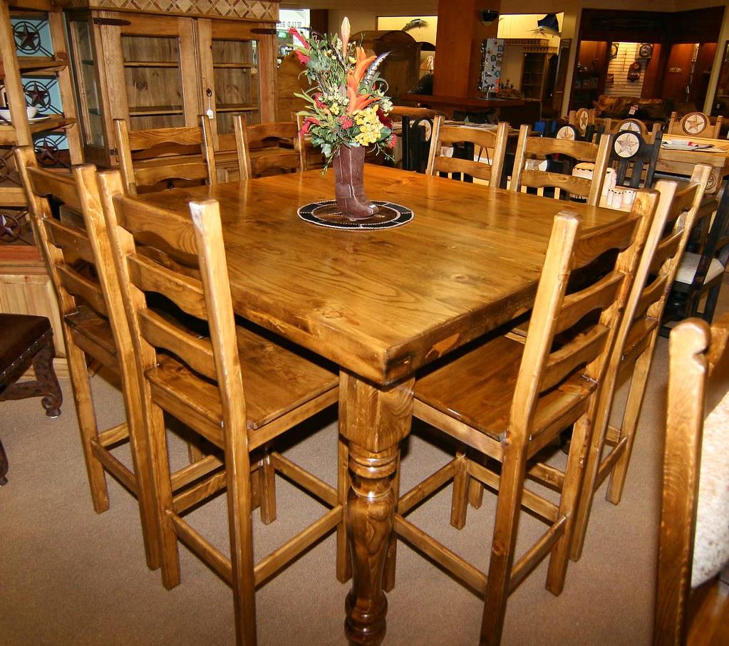 5x5 Pub Table