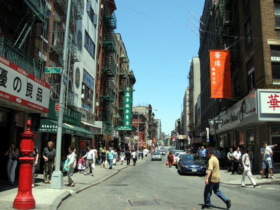 Chinatown Street (Click to enlarge)