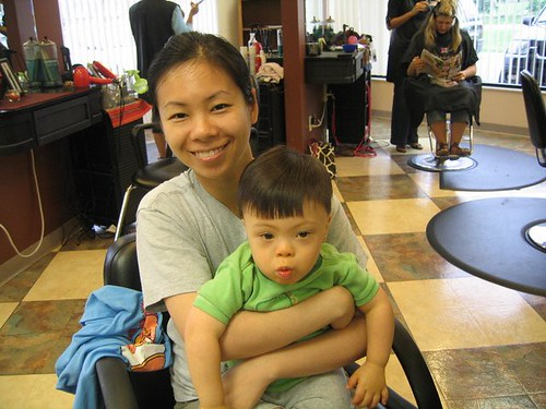 8th haircut June 2008