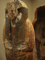 Gauetseshenu, the Less Important (meechmunchie) Tags: ancient egypt egyptian sarcophagus mummy coffin dynasty funerary 22nd ancientegypt libyan priesthood papacy deirelbahri cartonnage newkingdom 21stdynasty mummycase 22nddynasty psusennes dierelbahri herihor yellowtype rammeside