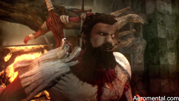 Dante's Inferno zombie deforme