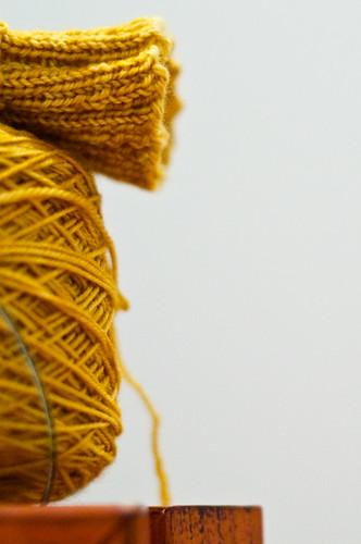 Mystery Sock Test Knit - WIP