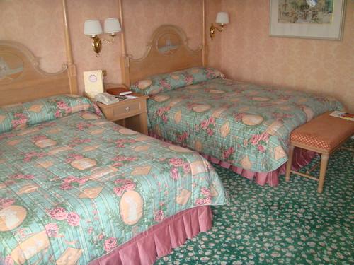 Zona de camas de la habitación