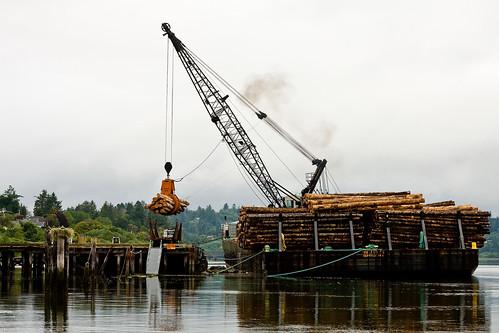 Lumber Barge
