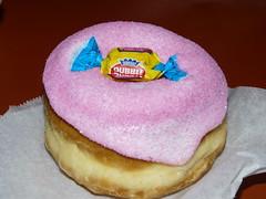 Bubble gum donut @ Vodoo Donuts PDX (kellidunham) Tags: donuts bubblegum voodoodonuts