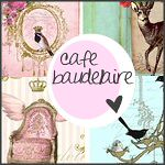 Cafe Baudelaire - Shabby Chic Prints and More