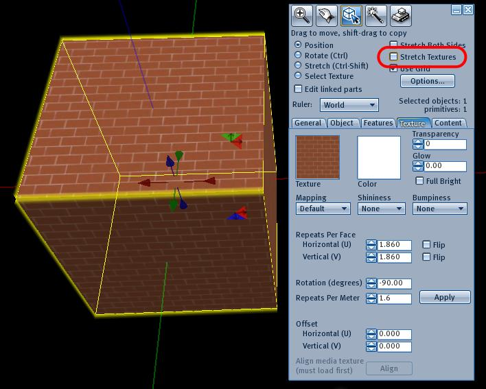 InAEA | Second Life Building Tips—6, Textures—1 the Basics