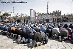Palestinians Praying in Jerusalem (jasonmoore) Tags: man male men worshipping horizontal kneel religious israel worship palestine muslim islam faith jerusalem prayer religion pray praying crowd middleeast culture belief arab bow muslims custom kneeling prayers prays islamic palestinians bowing arabs alquds palestinian devout moslem damascusgate isr eastjerusalem moslems fridayprayers fridayprayer