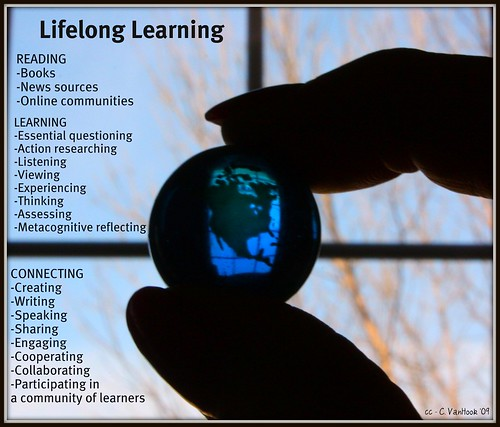 Lifelong Learning by Carol VanHook, on Flickr