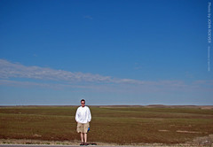 Yours truly in the Flint Hills, 22 April 2009 (photography.by.ROEVER) Tags: morning rural countryside bluesky april kansas prairie plains 2009 flinthills greatplains scenichighway geotagging scenicroad scenicbyway chasecounty k177 americasbyways flinthillsscenicbyway highway177 statehighway177 geotaggingkansas nationalscenicdrive americasbyway flinthillsnationalscenicbyway flinthillsbyway