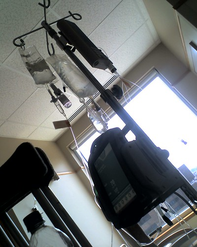 my iv pole