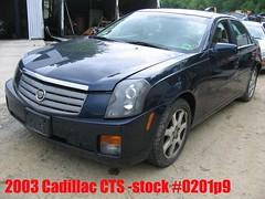 03 Cadillac CTS -stock #0201p9