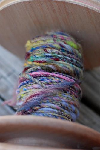 handspun yarn 085