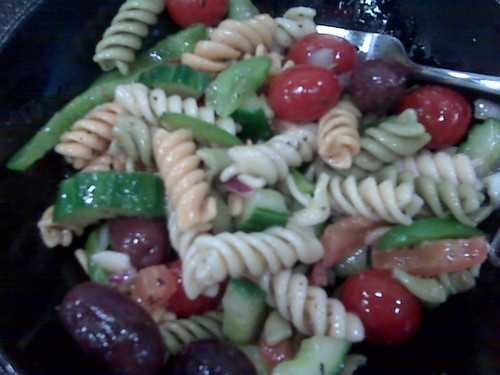 Greek Pasta Salad - Revisited