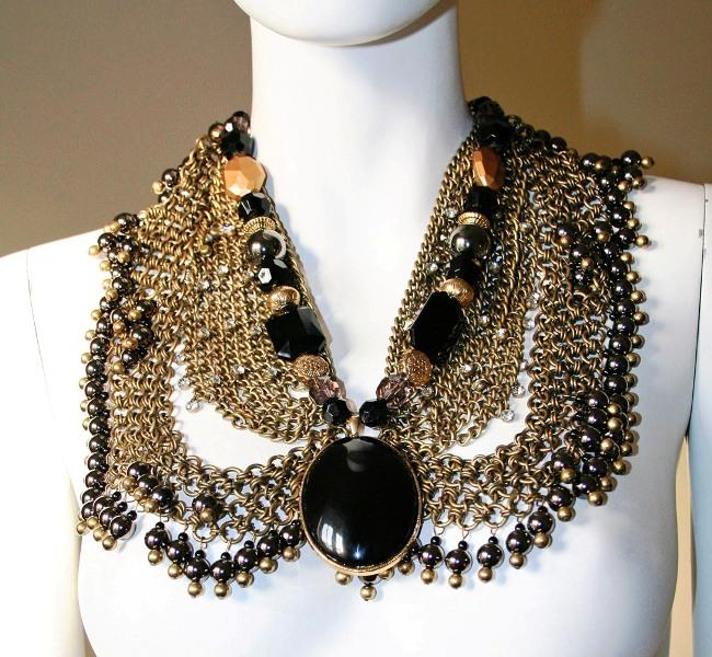 Anita Quansah reclaimed jewelry tribal trashion 20