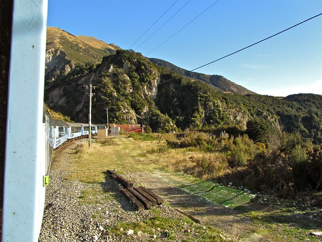 TranzAlpine, New Zealand