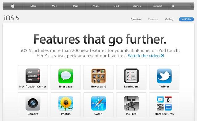 iOS5 Features