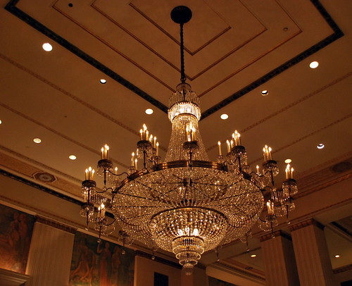 A Waldorf Astoria Chandelier