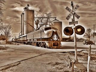 ICRR Santa Train - Melvin, IL