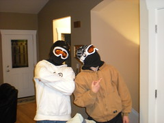 Nick & Marcus About to Rob a Bank