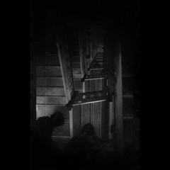 strangers on darkened stairs (B.S. Wise) Tags: shadow art stairs point photography photo perspective vanishing bradwise darkened bradswise art cafnoir afterthought indreams bw dark soul dreams gothic memento mori kubrickslook id daylighthorror hourofthesoul fixedshadows bswise veotodoenblancoynegro theessentialisinvisible monsters thoughts uncannyvillage wakingintothedream alynchmoment lynched orpheusisasnapshot thefacelessportrait myheartprofoundlyfluttered mysoulseyegrewclear vignetting palabra spookatorium