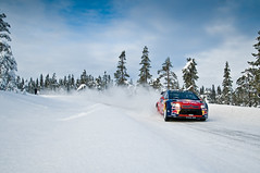 WRC Rally Norway (John Erik) Tags: trees winter snow cold cars ice norway forest frozen nikon frost racing wrc sn rallycar d300 rallynorway 1685mm