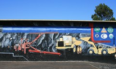 Wall Mural Painting - Tasmania 2 (spacountry) Tags: tasmania tassie tasmania2009