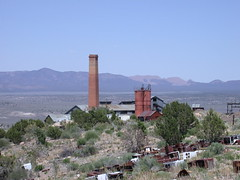 Pioche NV Godbe smelting mill 752 (DB's travels) Tags: abandoned nevada mining pioche lincolncounty us93