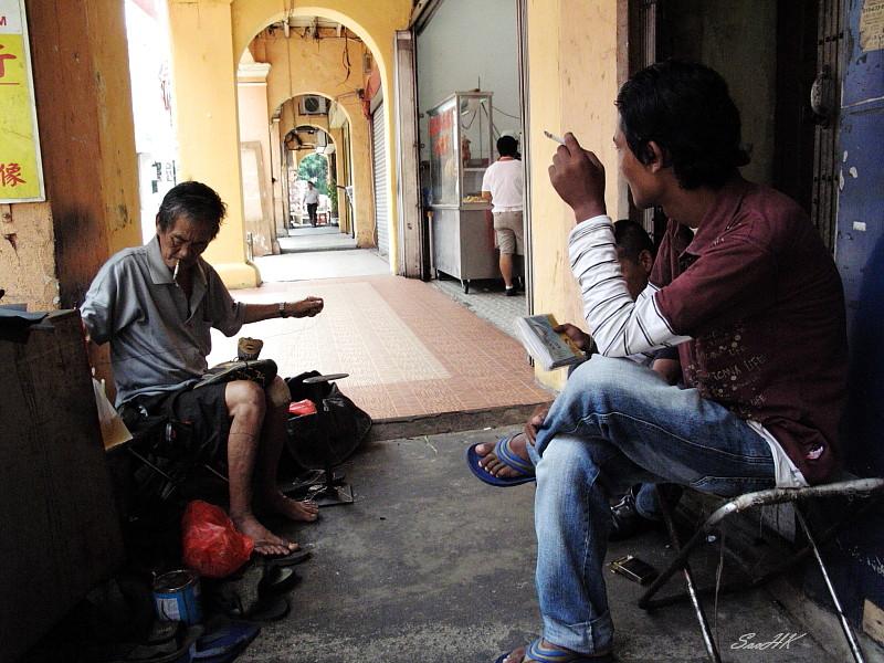 Shoe Repair @ KL Malaysia