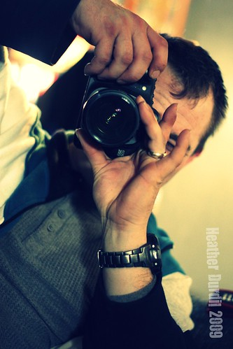 Hubby & His Camera