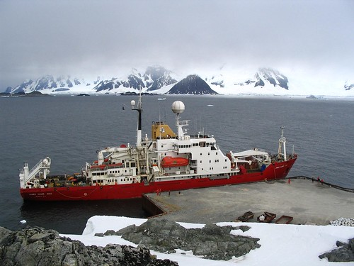 RRS James Clark Ross at Rothera
