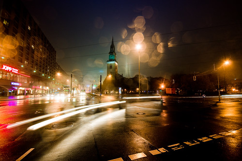 #1012310 night street scene