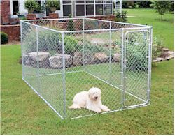 7126 7x12x6%20Kennel, wireless pet fences, undeground dog fences, pet doors, batteries & accessories, dod agility training equipment, dogs agility equipment, closed tunnel, agility closed tunnel, bar