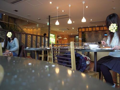 ロクシタンカフェ 店内