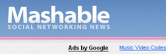 Mashable! — The Social Networking Blog