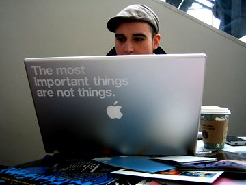 The most important things are not things.