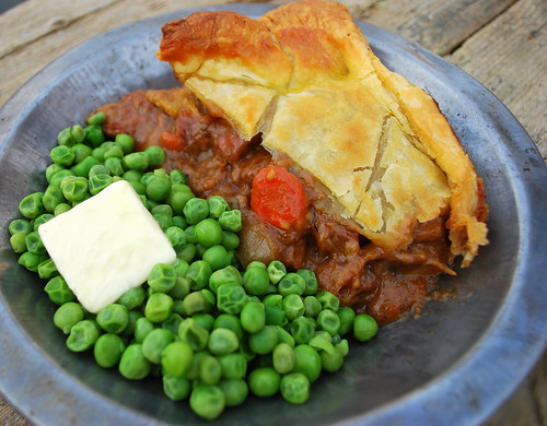 Guinness stew pie tin