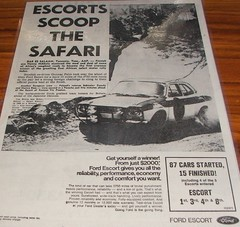 1970 Ford Mk1 Escort Rally Ad