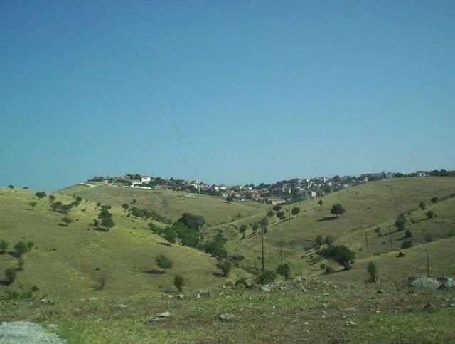 Θεσσαλία - Τρίκαλα Το Διάσελλο Τρικάλων από τη Θέση Εικόνισμα