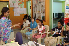 Children at the World Storytelling Day Event