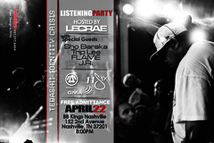 Official Tedashii Listening Party Flyer [Photo by Philip Rood]