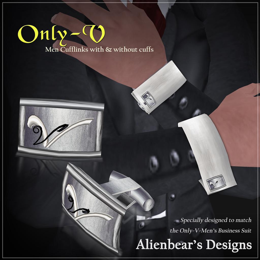Only-V cufflinks